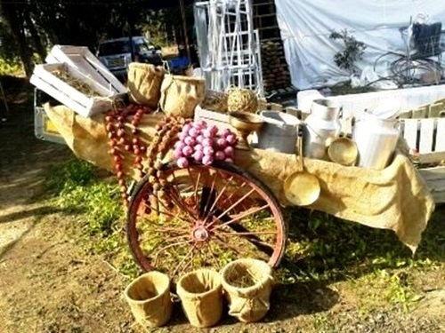 עיצוב אירועים כפריים - מזנוני הגשה כפריים